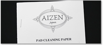 AIZEN パッドクリーニングペーパー