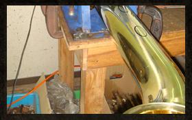サックス製造工程 ステップ4