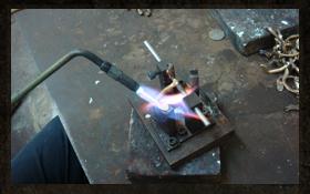 サックス製造工程 ステップ9